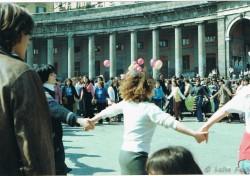 Manifestazione 8 marzo 1985, piazza del Plebiscito