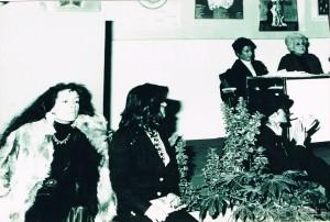 Marzo Donna 1980 Le Nemesiache a Castel dell'Ovo