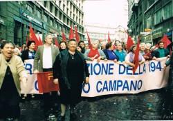 Manifestazione per il diritto all'aborto a Roma