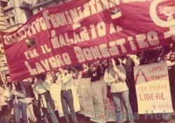 Manifestazione del Collettivo per il salario al lavoro domestico