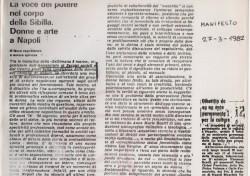 La voce del potere nel corpo della Sibilla. Donne e arte a Napoli