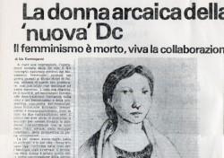 """La donna arcaica della """"nuova"""" DC"""