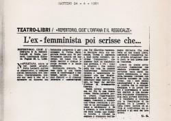 L'ex femminista poi scrisse che…