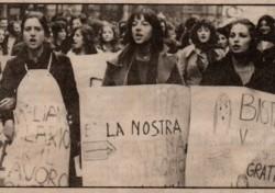 Un giorno di lotta per un movimento di donne che cresce