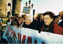 "Manifestazione ""194"" parole per la libertà"""