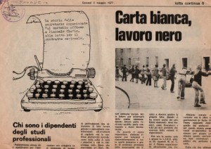 Quotidiano Lotta Continua 1977