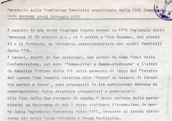 Seminario sulla condizione femminile – CISL Campania 1977