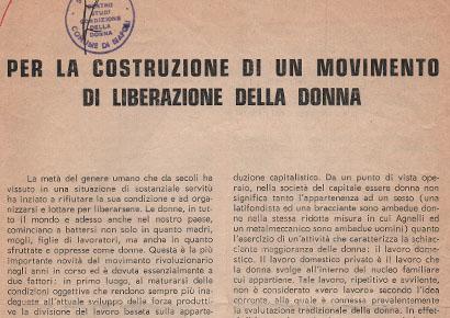 Archivio delle memorie delle donne di napoli per la for Costruzione di software per piani di lavoro