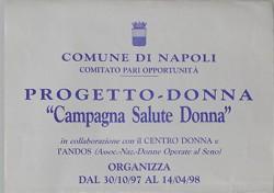 "Campagna ""Salute donna"""
