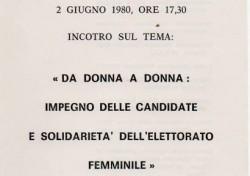 Da donna a donna – Impegno delle candidate e solidarietà dell'elettorato femminile