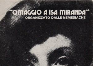 Omaggio a Isa Miranda