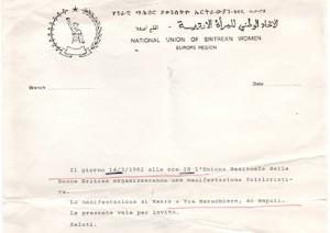 Unione Nazionale Donne Eritree