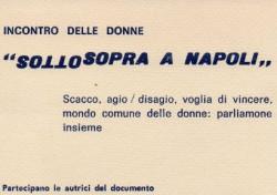 Sottosopra a Napoli