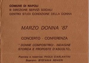 Marzo Donna '87