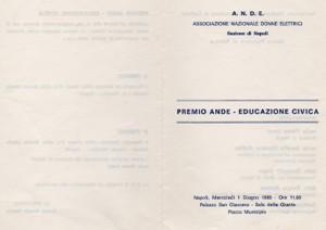 Premio Ande Educazione Civica