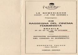 XIII Rassegna cinema femminista