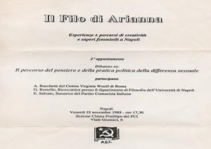 Il filo di Arianna – Esperienze e percorsi di creatività e saperi femminili a Napoli