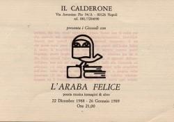 L'Araba Felice – Poesia, musica, immagini & altro