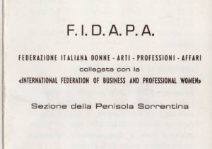 Federazione Italiana Donne Arti Professioni Affari