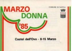 Marzo Donna '85
