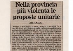Nella provincia più violenta le proposte unitarie