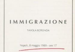 Tavola rotonda Immigrazione