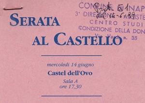 Serata al Castello