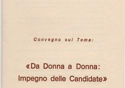 Da Donna a Donna: Impegno delle Candidate