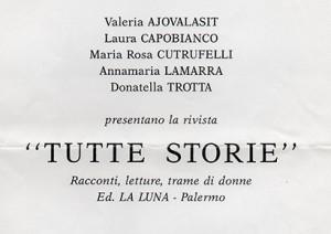 Tutte storie