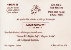 Marzo Donna 1997