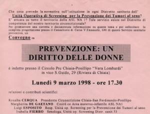 Prevenzione: un diritto delle donne