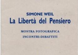 Simone Weil – La libertà di pensiero