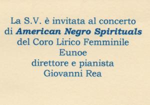 American Negro Spirituals