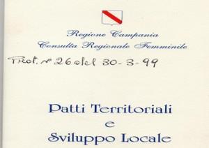 Patti Territoriali e Sviluppo Locale