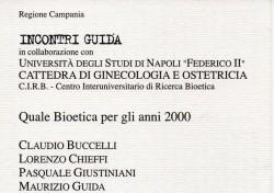Quale bioetica per gli anni 2000