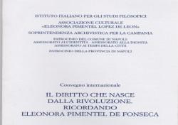 Il diritto che nasce dalla rivoluzione. Ricordando Eleonora Pimentel De Fonseca