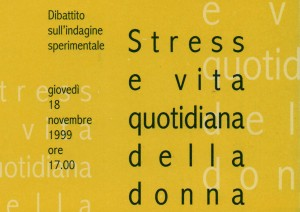 Stress e vita quotidiana della donna