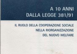 Il ruolo della cooperazione sociale nella riorganizzazione del nuovo welfare