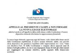 Appello al Presidente Ciampi