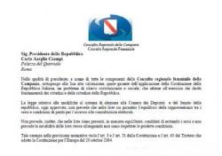 Lettera al Presidente Ciampi