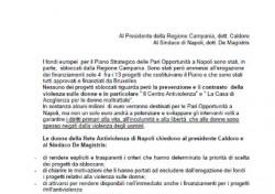Lettera al Presidente della Regione Campania e al Sindaco di Napoli