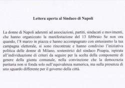 Lettera aperta al Sindaco di Napoli