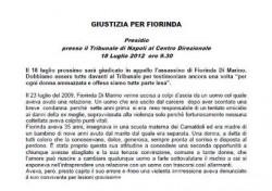 Giustizia per Fiorinda – 18 luglio 2012