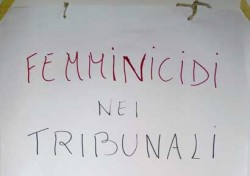 Femminicidi nei Tribunali