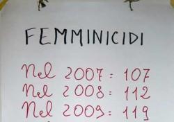 Femmicidi al 18 luglio 2012