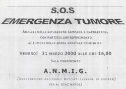 S.O.S. Emergenza Tumore