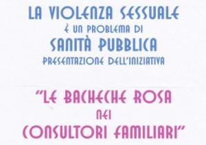 """""""La bacheca rosa nei consultori familiari"""""""