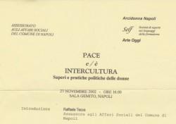 Pace e/è Intercultura