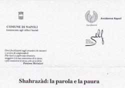 Shahrazàd: la parola e la paura