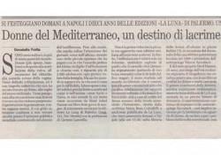 Donne del mediterraneo, un destino di lacrime, sangue e letteratura